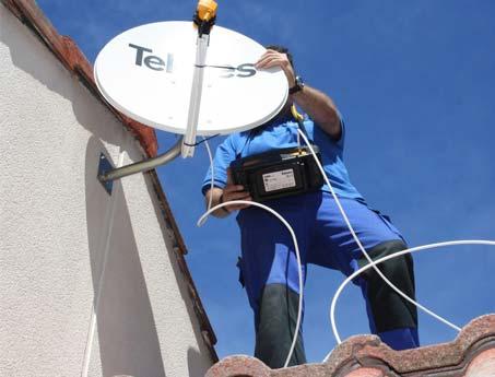 orientacion de antenas parabolicas en tarragona